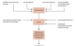 Geïntegreerd model voor suïcidaal gedrag van stress-kwetsbaarheid en entrapment